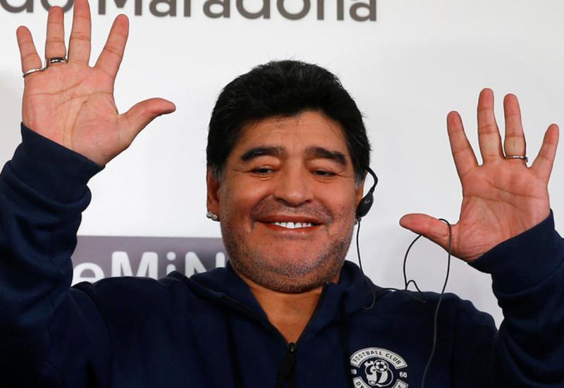 Марадона будет жить в Минске в доме за $20 млн