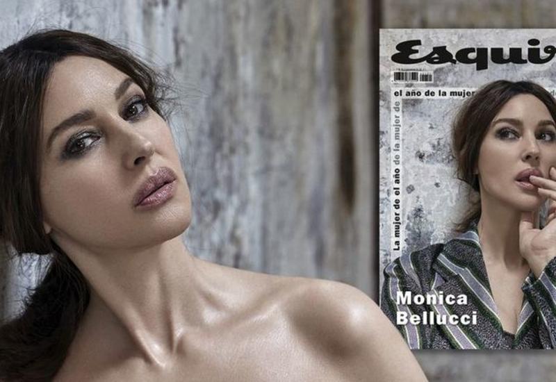 "Моника Белуччи украсила обложку испанского журнала <span class=""color_red"">- ФОТО</span>"