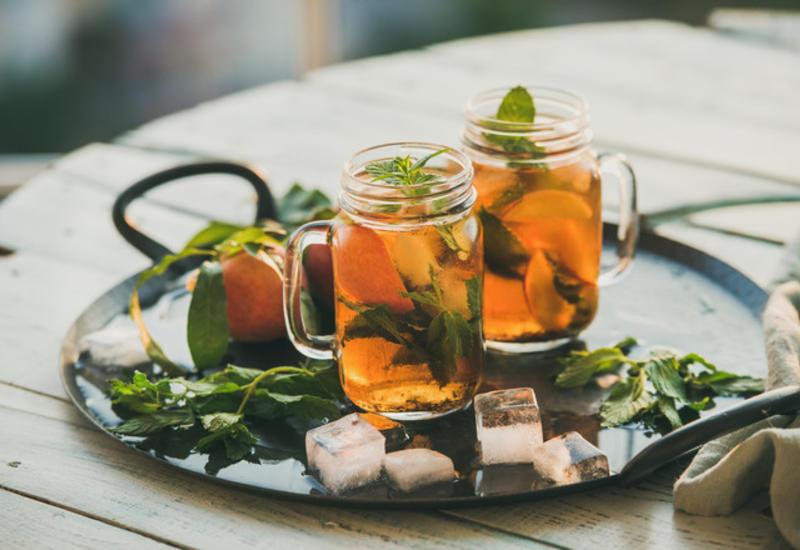 5 рецептов холодного чая