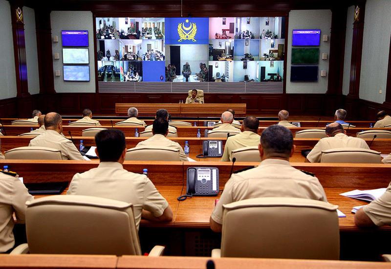 Закир Гасанов определил задачи по повышению оперативности действия азербайджанских войск