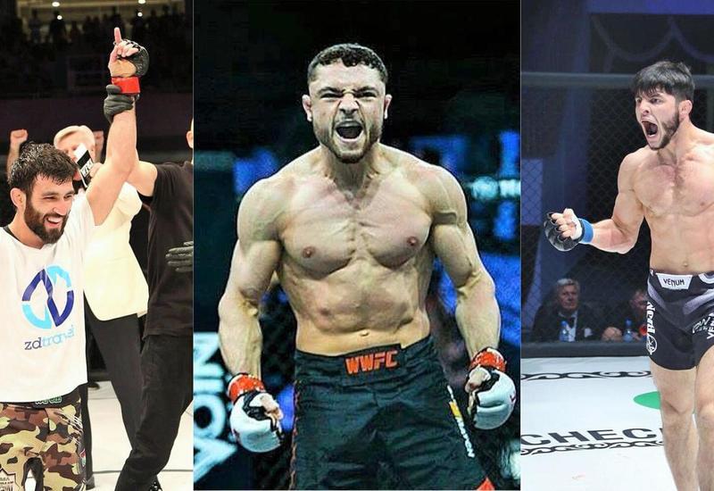 """Азербайджанские бойцы будут выступать в американской лиге MMA <span class=""""color_red"""">- ФОТО</span>"""