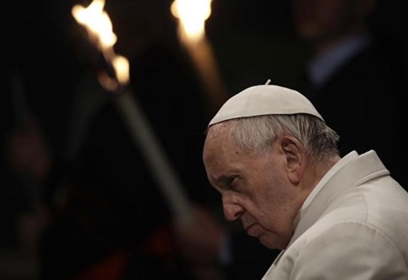 Папа Римский призвал не допускать крушений судов с мигрантами