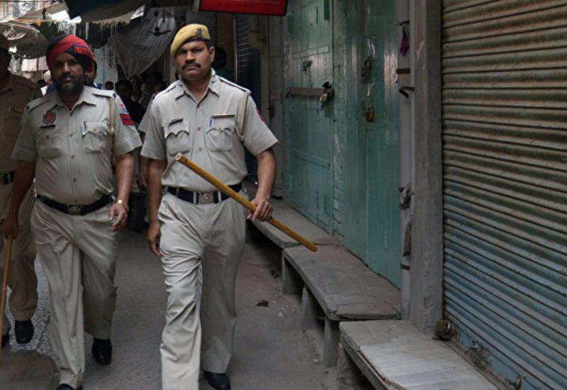 В Индии  полиция ликвидировала трех боевиков