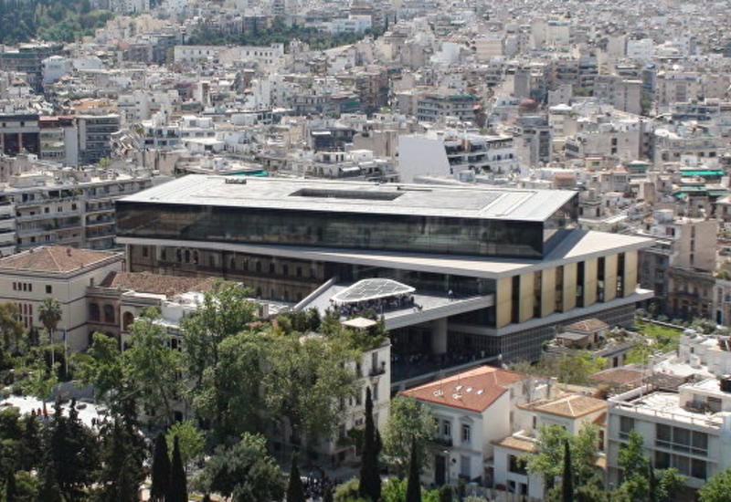 Афинский Акрополь закрыли из-за жары