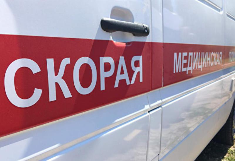 В России рухнул аттракцион с маленькими детьми