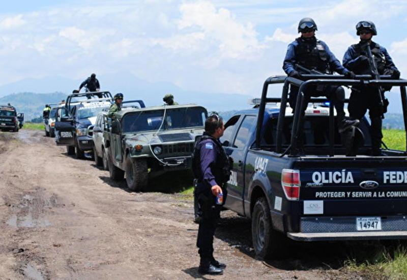 В Мексике нашли пять сожженных тел