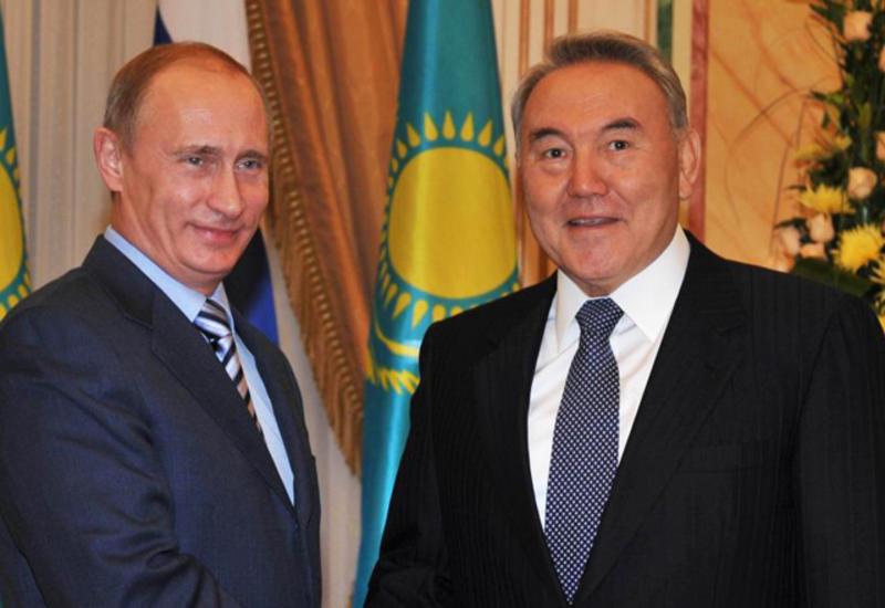 Путин обсудил с Назарбаевым подготовку Каспийского саммита