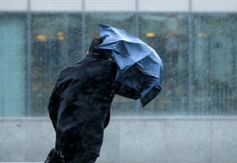 Ветер в Азербайджане усилится, ожидаются дожди