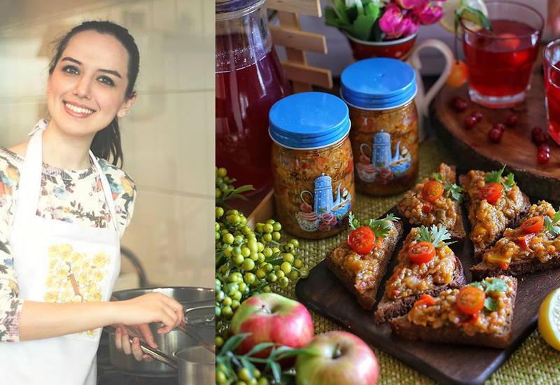 Икра баклажанная - Пошаговый рецепт от азербайджанского фуд-блогера