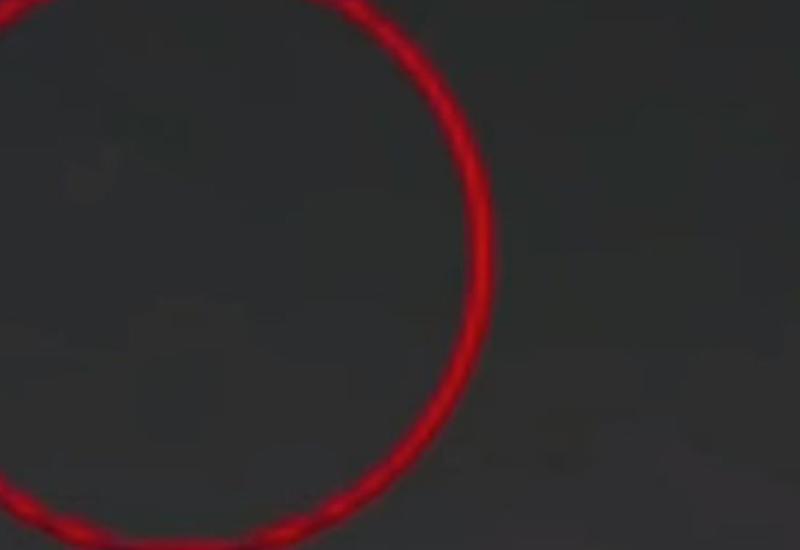 НЛО спровоцировал взрыв уличного фонаря