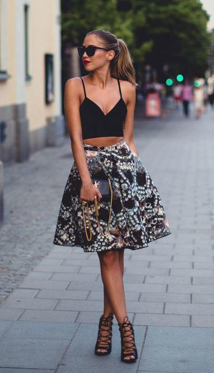 Как носить черный летом и не выглядеть мрачно: 8 стильных идей новые фото