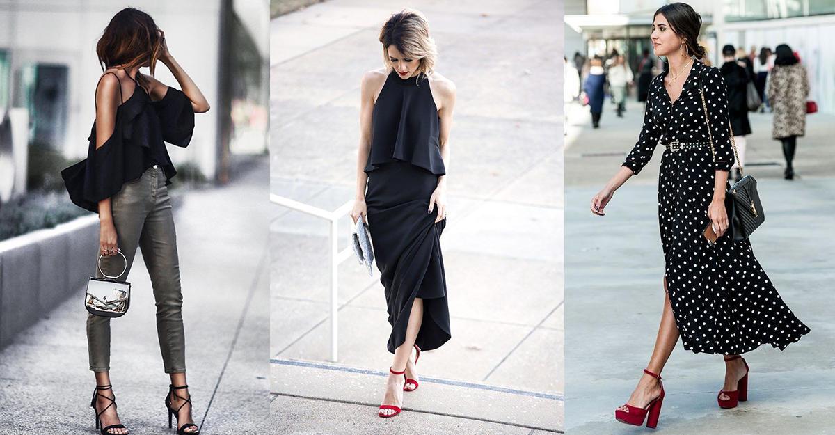 Как носить черный летом и не выглядеть мрачно: 8 стильных идей в 2019 году
