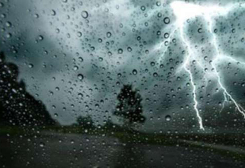В Баку будет дождливо