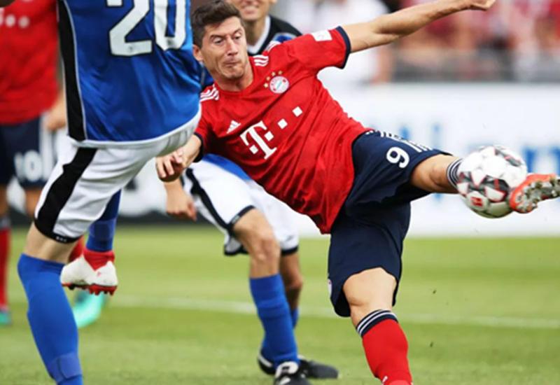 «Бавария» забила 20 голов в товарищеском матче