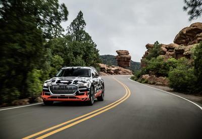 Audi раскрыла технические характеристики электрокроссовера e-tron
