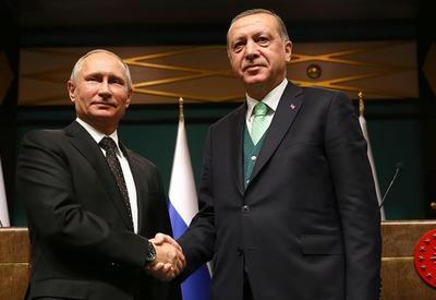Состоялся телефонный разговор между Эрдоганом и Путиным