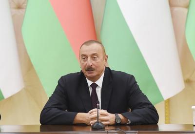 Президент Ильхам Алиев: Позиция Таджикистана по нагорно-карабахскому конфликту как дружественная, так и справедливая