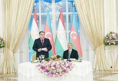 """От имени Президента Ильхама Алиева был дан официальный прием в честь Президента Таджикистана <span class=""""color_red"""">- ФОТО</span>"""