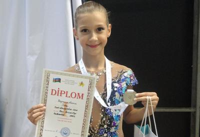 Азербайджанская гимнастка Нармина Байрамова: Хочу быть олимпийской чемпионкой, и не один раз
