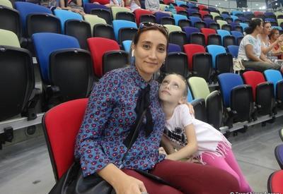 Зрительница: Соревнования в Национальной арене гимнастики в Баку - это высший пилотаж