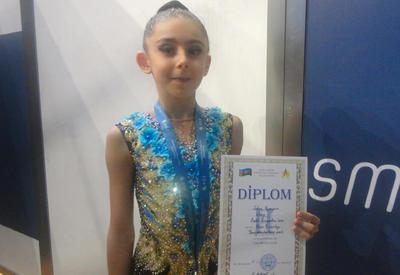 Азербайджанская гимнастка Захра Пашаева: Мне помогает, когда зрители поддерживают