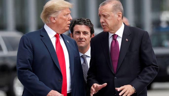 Трамп повысил в 2 раза пошлины на алюминий и сталь из Турции