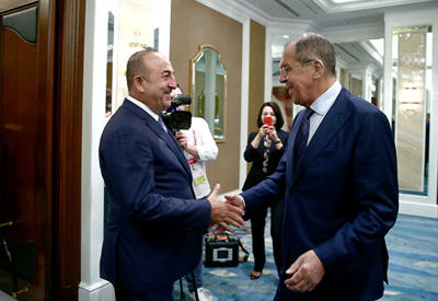 Лавров и Чавушоглу обсудят подготовку саммита по Сирии