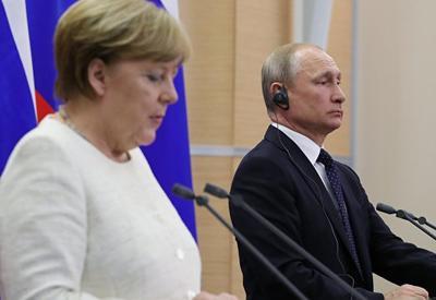 Песков подтвердил дату встречи Путина и Меркель