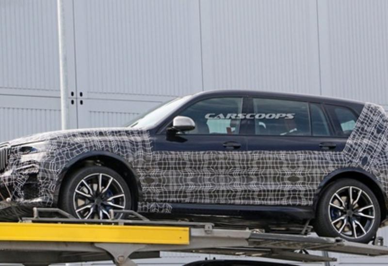 BMW рассказала об испытаниях нового внедорожника Х7