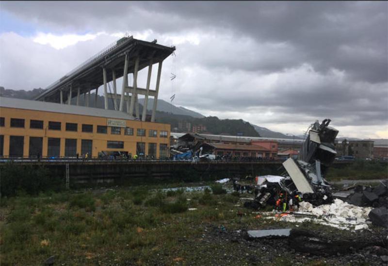 Мэрия Генуи объявила двухдневный траур после обрушения моста