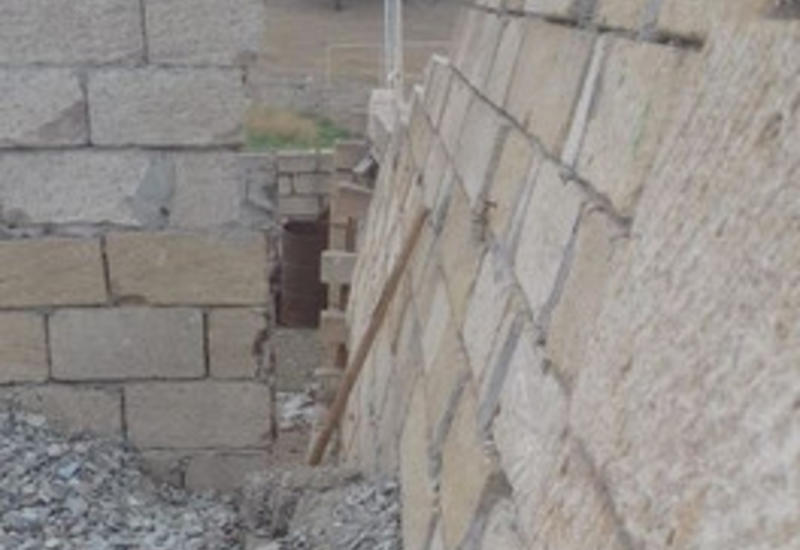В Шамахе произошел оползень