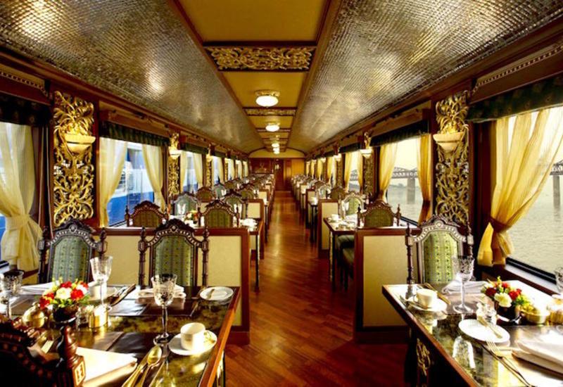 Поезда, на которых подают самые изысканные блюда