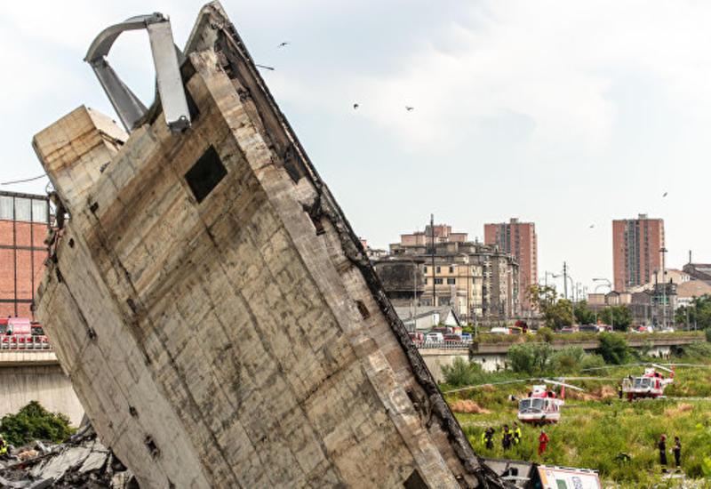 Еврокомиссия готова оказать помощь Италии из-за обрушения моста в Генуе