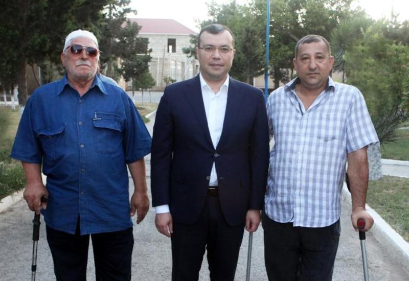 """В Азербайджане капитально ремонтируются учреждения реабилитации инвалидов <span class=""""color_red"""">- ФОТО</span>"""