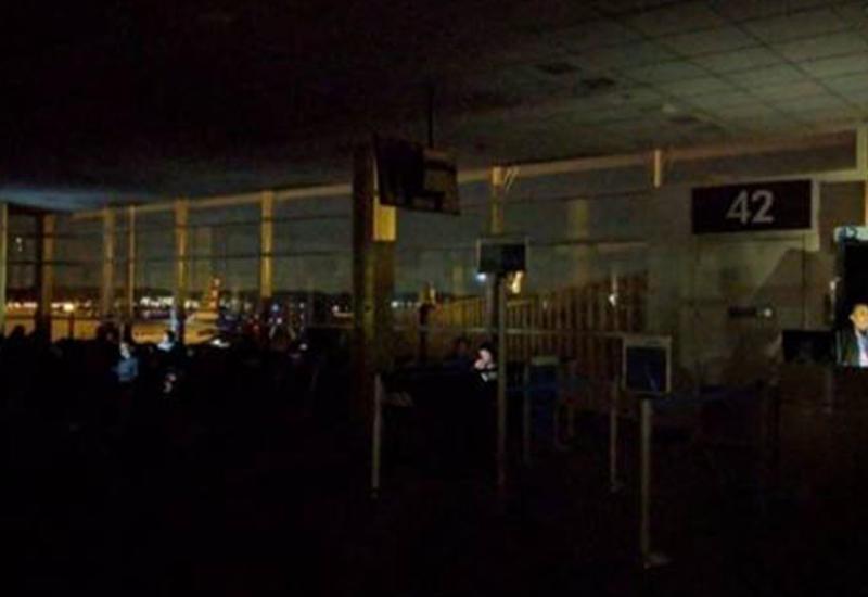 В аэропорту Рейгана в Вашингтоне отключилось все электричество
