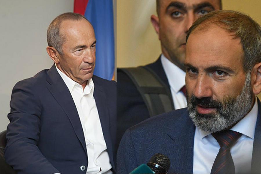 Кочарян или Пашинян: новая грязная борьба в Армении - ПОДРОБНОСТИ