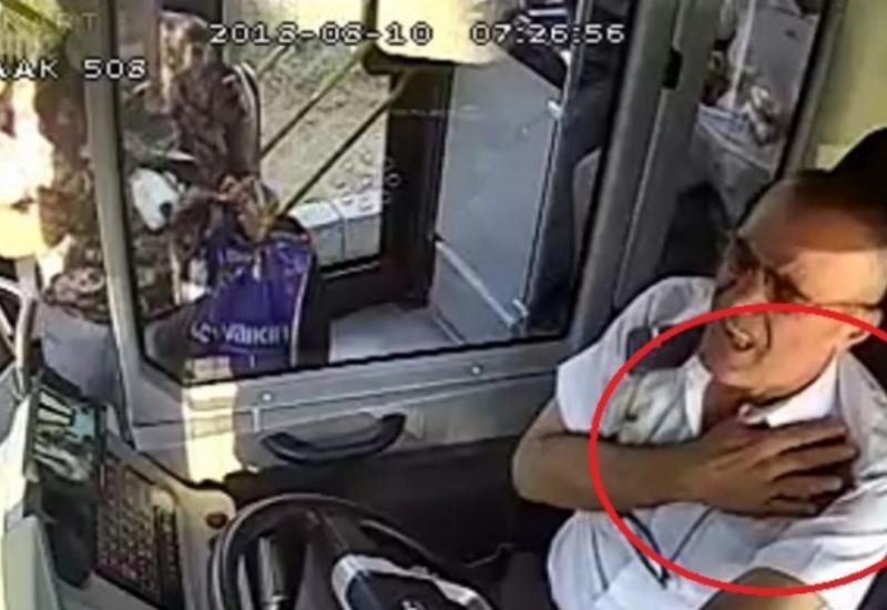 """İnfarkt keçirən avtobus sürücüsü bu addımı ilə ölkədə qəhrəman oldu <span class=""""color_red"""">- VİDEO</span>"""