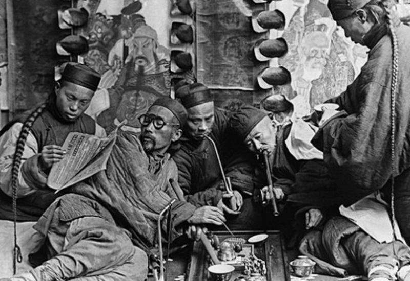 Какангличане «споили» 800-тысячную армию Китая
