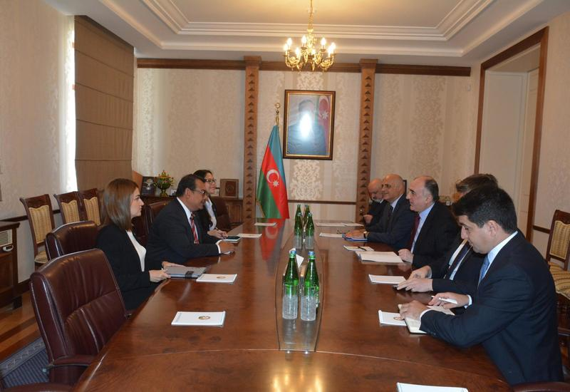 """Посол Малайзии завершил дипмиссию в Азербайджане <span class=""""color_red"""">- ФОТО</span>"""