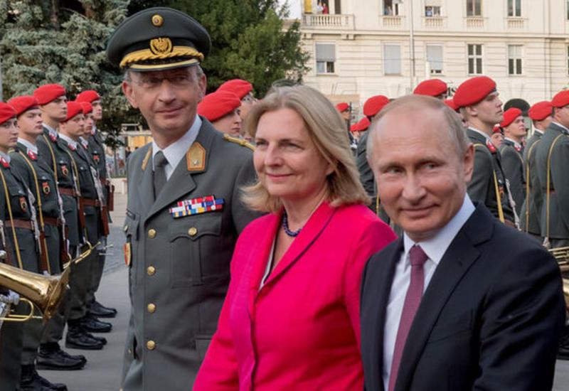 Австрийские СМИ выяснили точное место свадьбы главы МИД Австрии