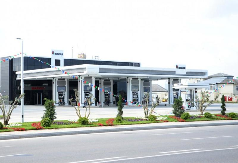 В Баку открылась вторая газовая заправка SOCAR