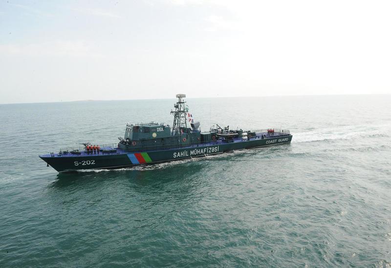 Госпогранслужба об охране морских границ Азербайджана