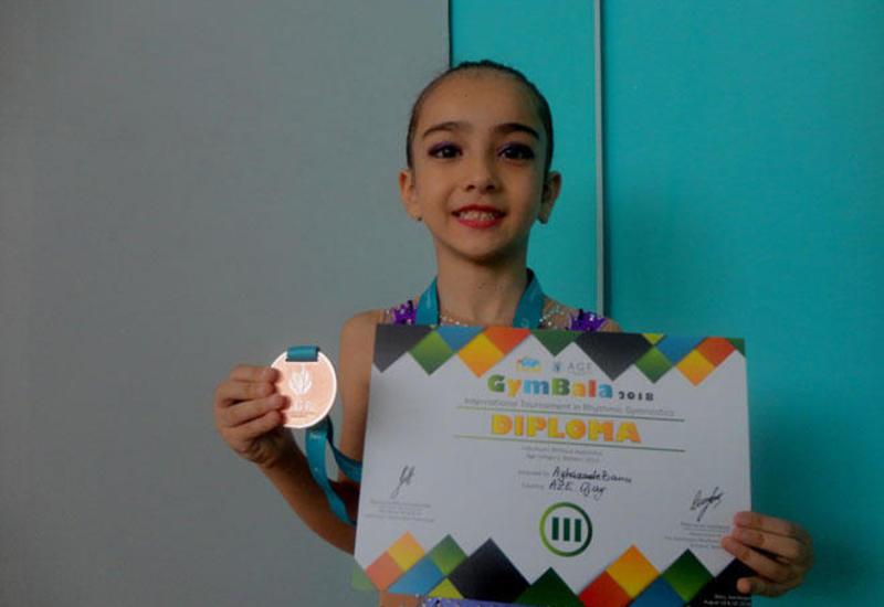 Юная азербайджанская гимнастка: Очень понравилось выступать в Национальной арене гимнастики