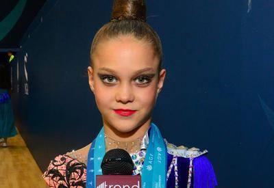 Юная украинская гимнастка: Очень понравилась арена гимнастики в Баку