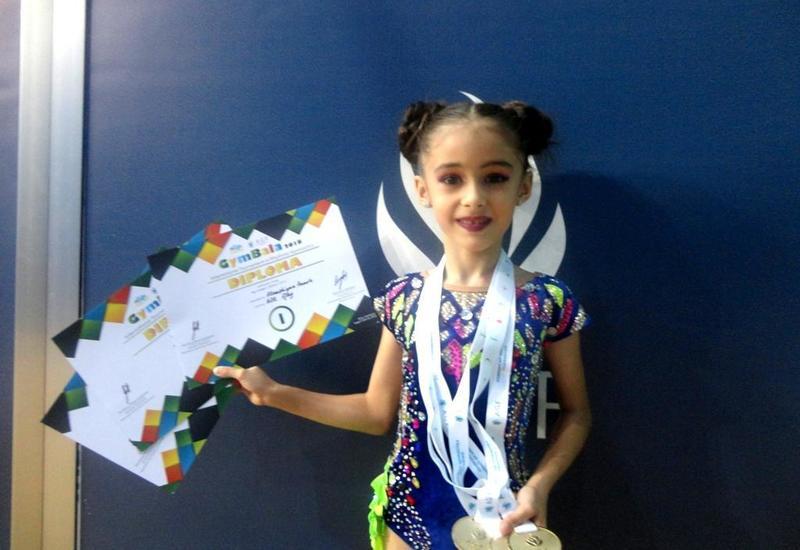 Юная азербайджанская гимнастка: Посвящаю свою победу тренеру