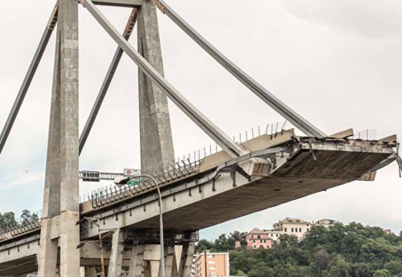 Рухнувший мост в Генуе могут снести