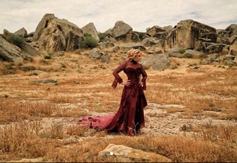 "Алена Апина презентовала видеоклип, который снял бакинец <span class=""color_red"">- ФОТО - ВИДЕО</span>"
