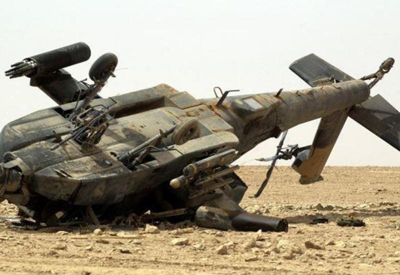 В Эфиопии разбился военный вертолет, много погибших