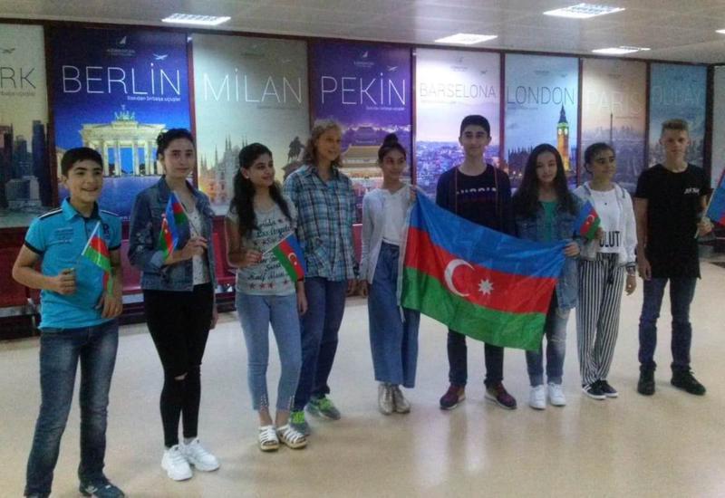 Представители молодежи Азербайджана отправились в Москву и Казань