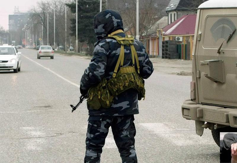 """Полицейские ликвидировали напавшего на них преступника в Чечне <span class=""""color_red"""">- ВИДЕО</span>"""